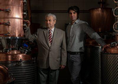 Pintér Péter és édesapja